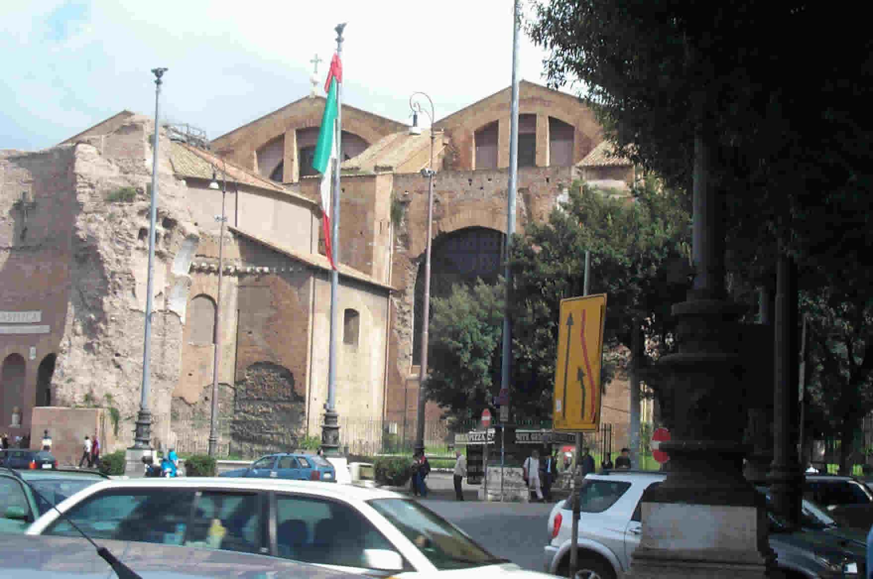 Baths Of Diocletian Rome