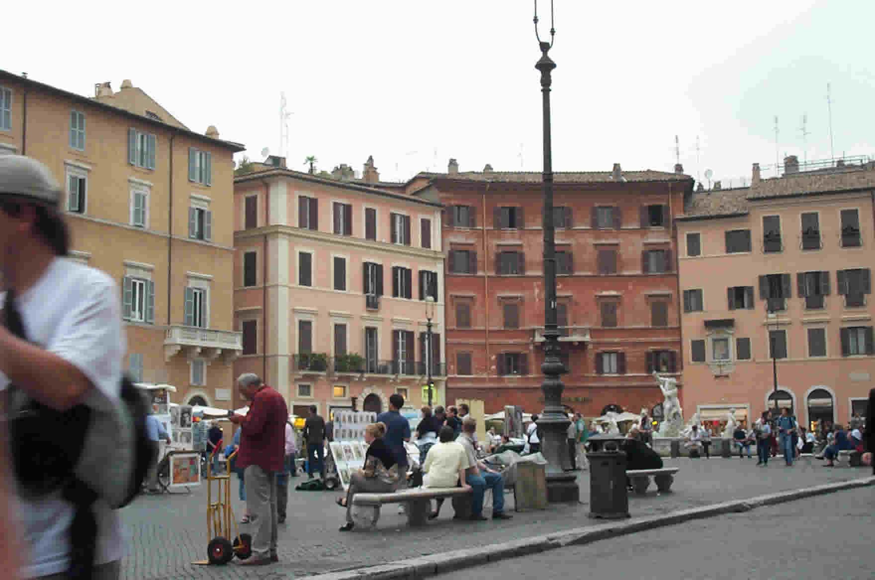 Photos Piazza Navona And Panthron