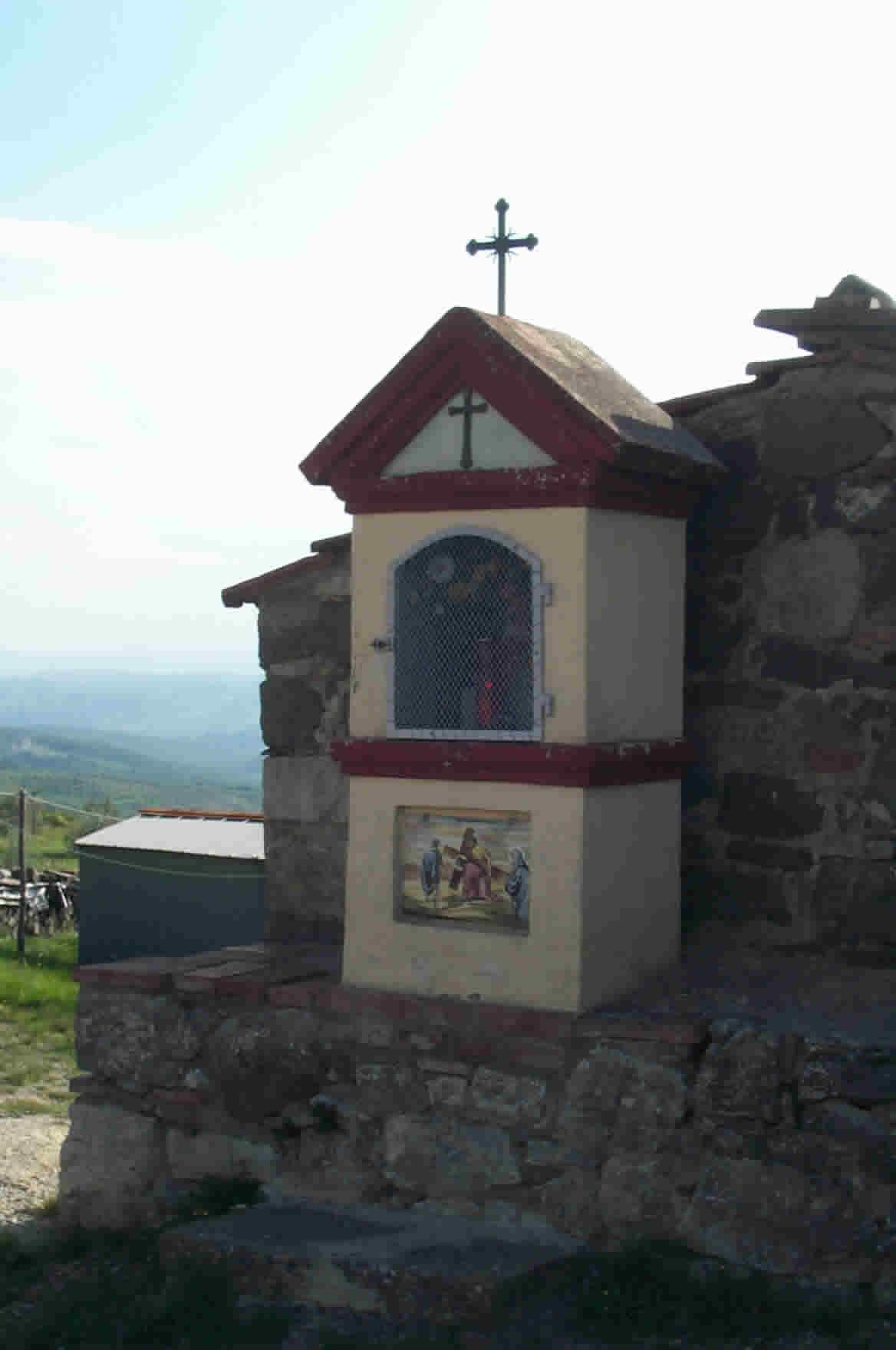 Vagliagli Italy  City new picture : pretty shrine that sits at the entrance to Vagliagli town.
